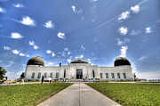 Griffith Park Prints - Griffith Observatory 2 Print by Jessica Velasco