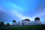 Griffith Framed Prints - Griffith Observatory Framed Print by Andrew Kennelly