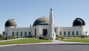 Look Out Art - Griffith Observatory by Malania Hammer