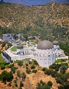 Griffith Metal Prints - Griffith Observatory Metal Print by Matt MacMillan