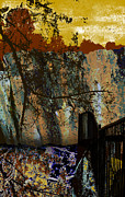 Griffith Digital Art Framed Prints - Griffith Quarry 4 Framed Print by Philip Tolok