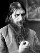 Russian Revolution Framed Prints - Grigori Rasputin, Russian Mystic Framed Print by Ria Novosti