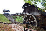 Fowler Park Photos - Grist Mill 1 by Franklin Conour