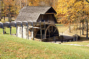 Fowler Park Photos - Grist Mill 2 by Franklin Conour