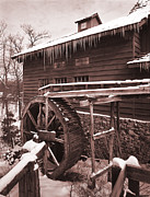 Grist Mill Prints - Grist Mill at Siver Dollar City Print by Garry McMichael