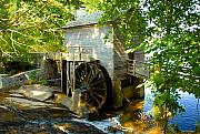 Grist Mill Prints - Grist Mill Print by David Lee Thompson