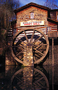 Grist Mill Prints - Grist Mill in the Smokies Print by Paul W Faust -  Impressions of Light