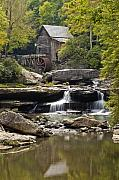 Water Flowing Prints - Grist Mill No. 1 Print by Harry H Hicklin