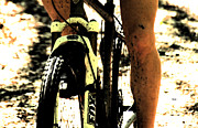 Mountain Biking Posters - Grit  Poster by Steven  Digman