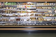 Grocery Store Prints - Grocery Store Display Print by Andersen Ross