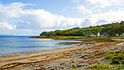 Argyll And Bute Prints - Grogport Print by Chris Thaxter