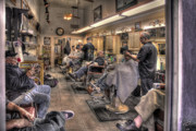 Barber Shop Prints - Grooming Tucson Print by Rich Beer