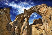 Wendy White Acrylic Prints - Grosvenor Arch Acrylic Print by Wendy White