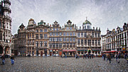 Unesco Framed Prints - Grote Markt III Framed Print by Joan Carroll