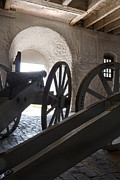 Shed Photo Prints - Ground Floor Cannons Print by Peter Chilelli