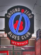 Blues Club Posters - Ground Zero Poster by David Bearden