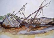 Wrecked Paintings - Grounded by Barbara Pearston
