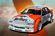 Group C Vk Commodore Print by Stuart Row