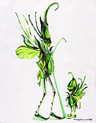 Fantasy Mixed Media - Growing Grass by Mindy Newman