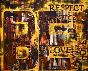 Respect Painting Prints - Growing Pains Print by Blanche Guernsey