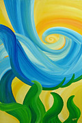 Inspire Paintings - Growth by Ginny Gaura