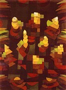 Klee Posters - Growth Of Plants Poster by Pg Reproductions