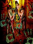 Grubby Littel Hands Enslave Print by Tammera Malicki-Wong
