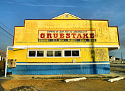 Business Greeting Cards Art - Grubstake by Steven Ainsworth