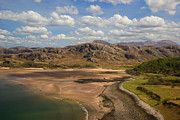 Wester Ross Prints - Gruinard Bay Print by Karl Normington
