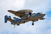 Airshows Photos - Grumman E-2 Hawkeye by Bill Lindsay