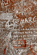 Writing Art - Grunge Background by Carlos Caetano