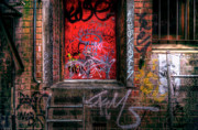 Window Bars Prints - Grunge Junkies Unite Print by Wayne Sherriff