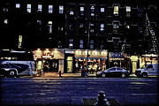 Nyc Digital Art Metal Prints - Grunge street Metal Print by Robert Ponzoni