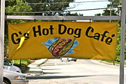 G's Hotdog Cafe Sign Print by Robin EL-Hachem