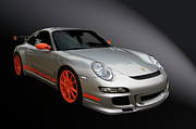 Classic Automobile Prints - Gt3 Rs Print by Bill Dutting