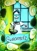 Guacamole Print by Heather Calderon