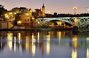 Building Photo Posters - Guadalquivir Poster by Gustavo