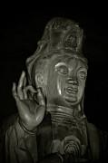Guan Yin Bodhisattva - Goddess Of Compassion Print by Christine Till