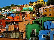Darian Day Photo Posters - Guanajuato Hillside 1 Poster by Olden Mexico