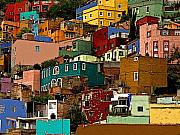 Darian Day Photo Posters - Guanajuato Hillside 4 Poster by Olden Mexico