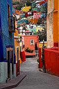 Skiphunt Photos - Guanajuato Lane by Skip Hunt