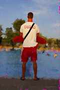 Life Guard Prints - Guard Print by Geoff Strehlow