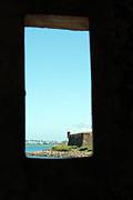 Guard Tower View Castillo San Felipe Del Morro San Juan Puerto Rico Print by Shawn OBrien
