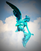 Angel Digital Art - Guardian Angel by Bill Cannon