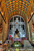 Detroit Photos - Guardian Building Lobby - Detroit by Rod  Arroyo