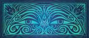 Celtic Knotwork Posters - Guardian Gaze Poster by Cristina McAllister