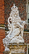 Hampton Court Prints - Guardian Lion Print by Jon Berghoff