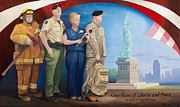Soldier Paintings - Guardians of Liberty and Peace by Michael Wilson