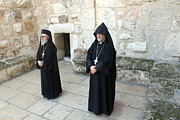 Orthodox Photo Originals - Guarding Nativity Church by Munir Alawi