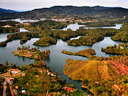 Guatape Print by Skip Hunt